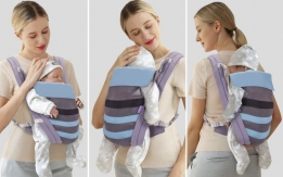 Adjustable Newborn Infant Baby Carrier