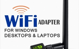 Driver Free WiFi Adapter for Windows Desktops and Laptops