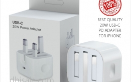 Original 20W Power Adapter for iPhone 12 and 11