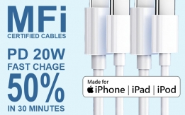 Original Apple MFi Certified Data Cable for iPhone and iPad