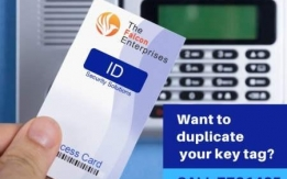 RFID and Mifare Key Tags and Card Duplicate