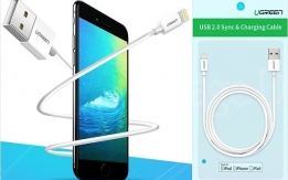 Ugreen Apple MFi USB Data Charging Cable for iPhone and iPad