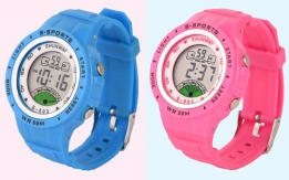 Waterproof Wrist Watches for Kids Children